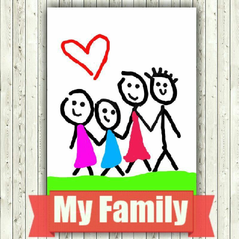 Mi familia; creación de mi hija Valentina!!!