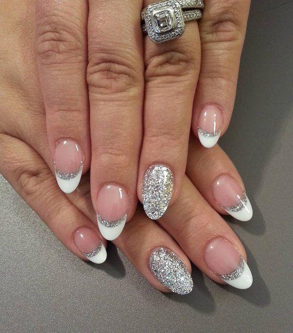 37 Beautiful Oval Nail Art Ideas | Nails | Pinterest | Nageldesign Ovale Nu00e4gel Und Hochzeitsnu00e4gel