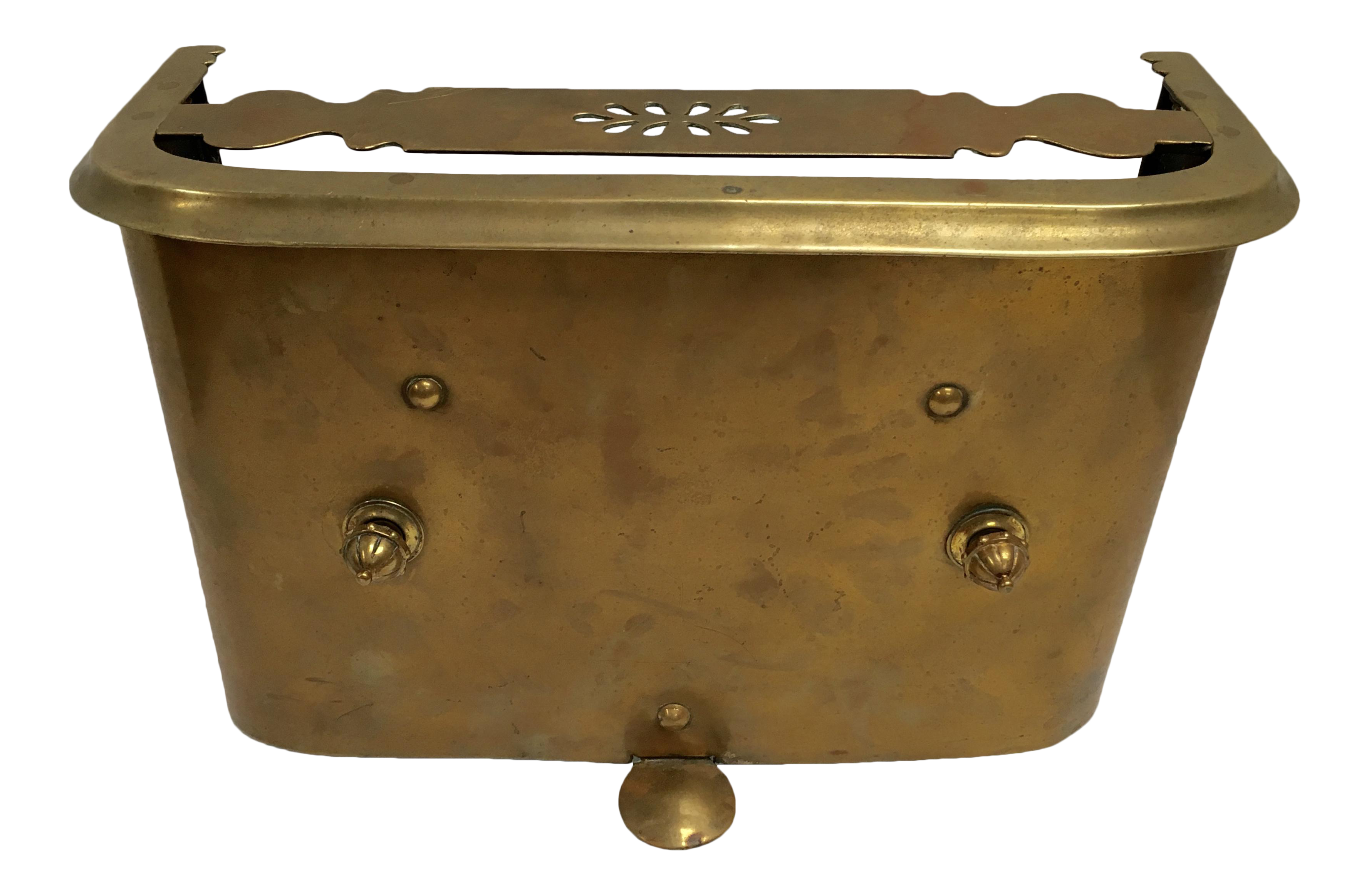 Magnificent Antique 1800S Brass Fireplace Fender 4 Good On Chairish In Download Free Architecture Designs Scobabritishbridgeorg