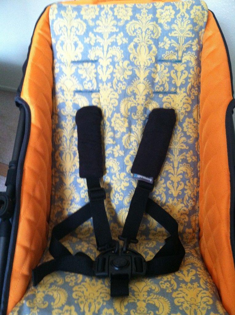 DIY Stroller seat cover. BEAUTIFUL!