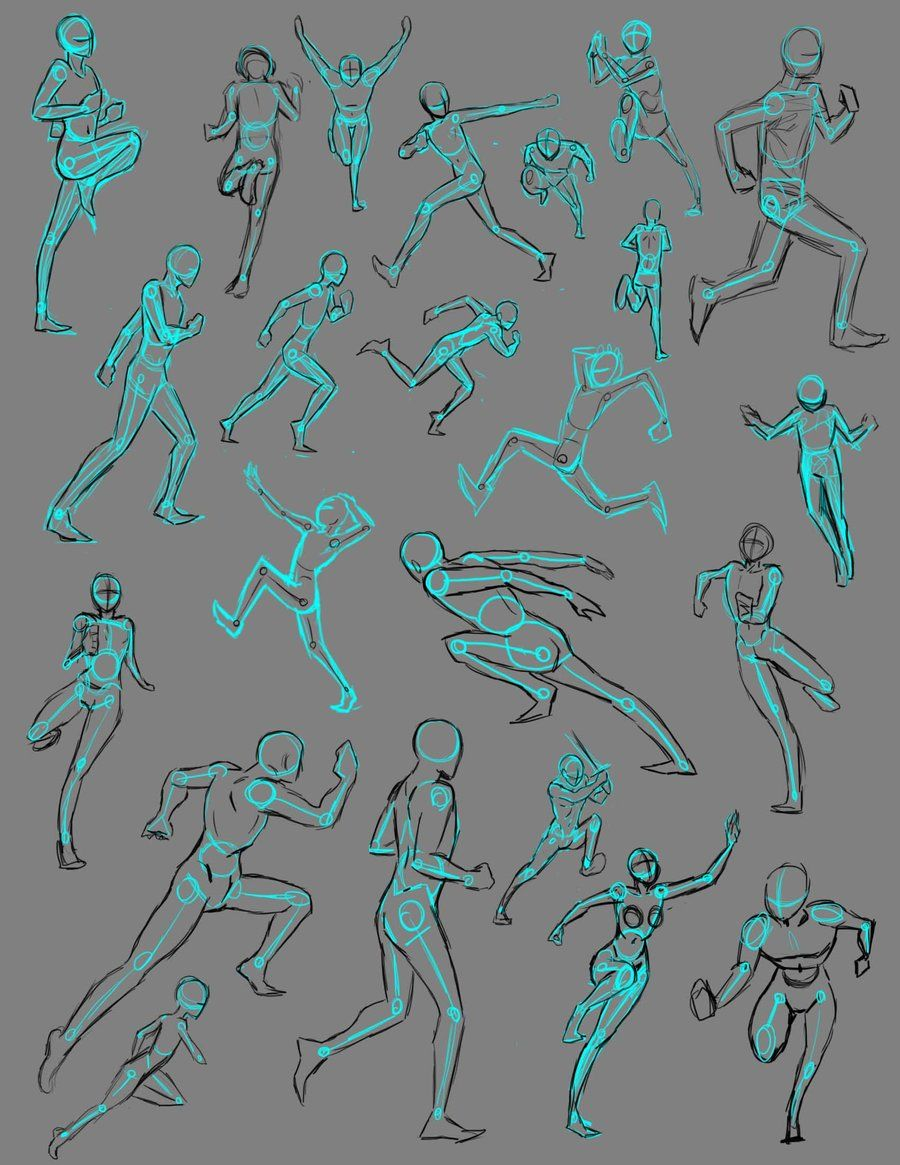 Running Poses By Thealtimate On Deviantart Anime Poses Reference Running Art Running Illustration