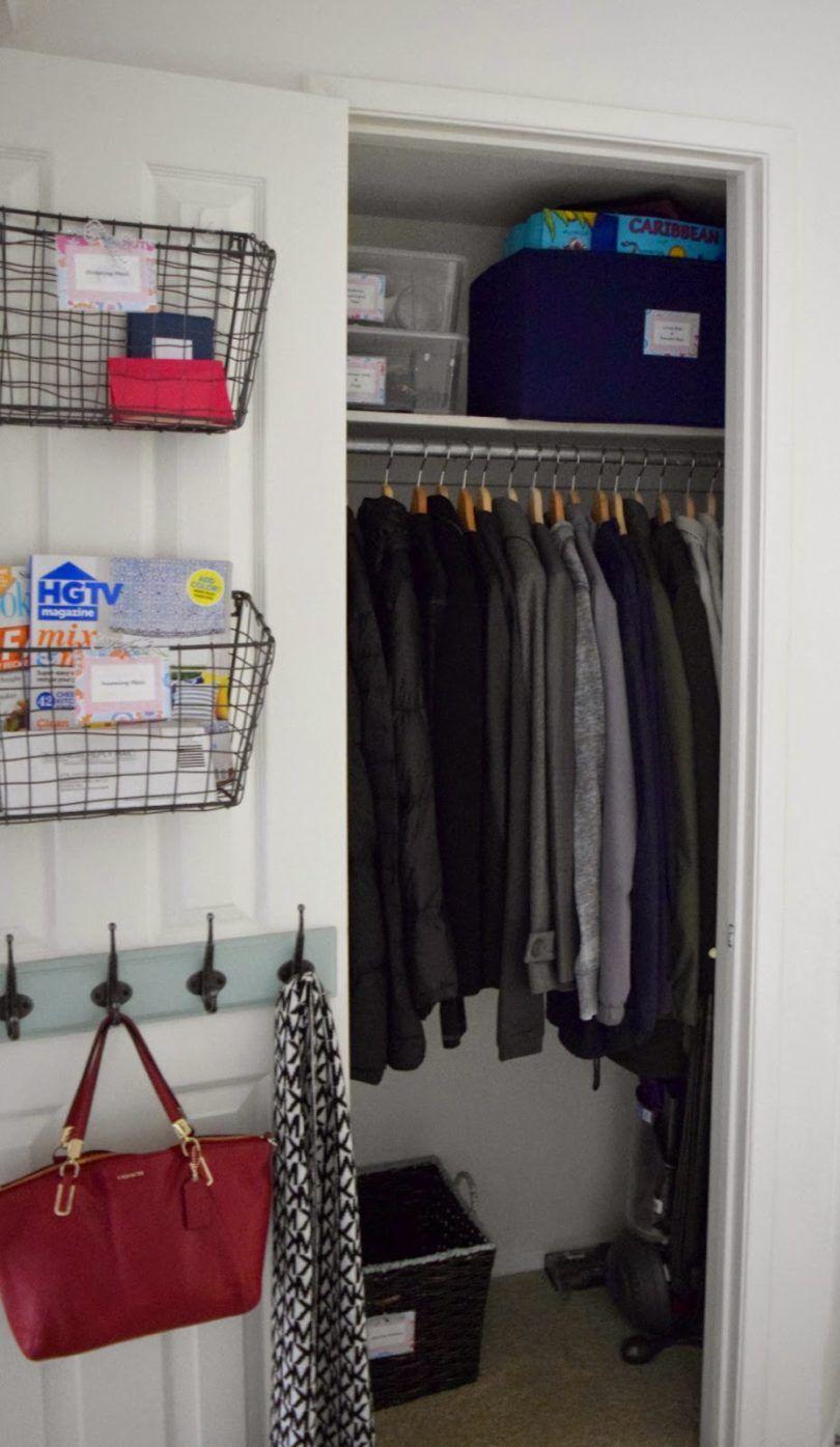 hall closet organizer