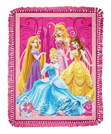 Joann Fabric No Sew Throw Kit : joann, fabric, throw, Princess, Tiaras, Jewels, Fleece, Throw, Disney, Dress, Sewing, Fleece,, Tiara