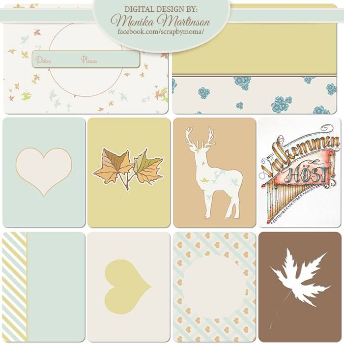 FREE Journal Cards by Monika Martinson