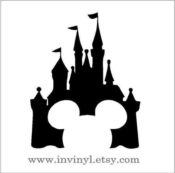 HOME Disney Castle Decal Sticker Laptop