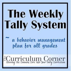 The Daily Tally System  A Behavior Management Plan  Behavior