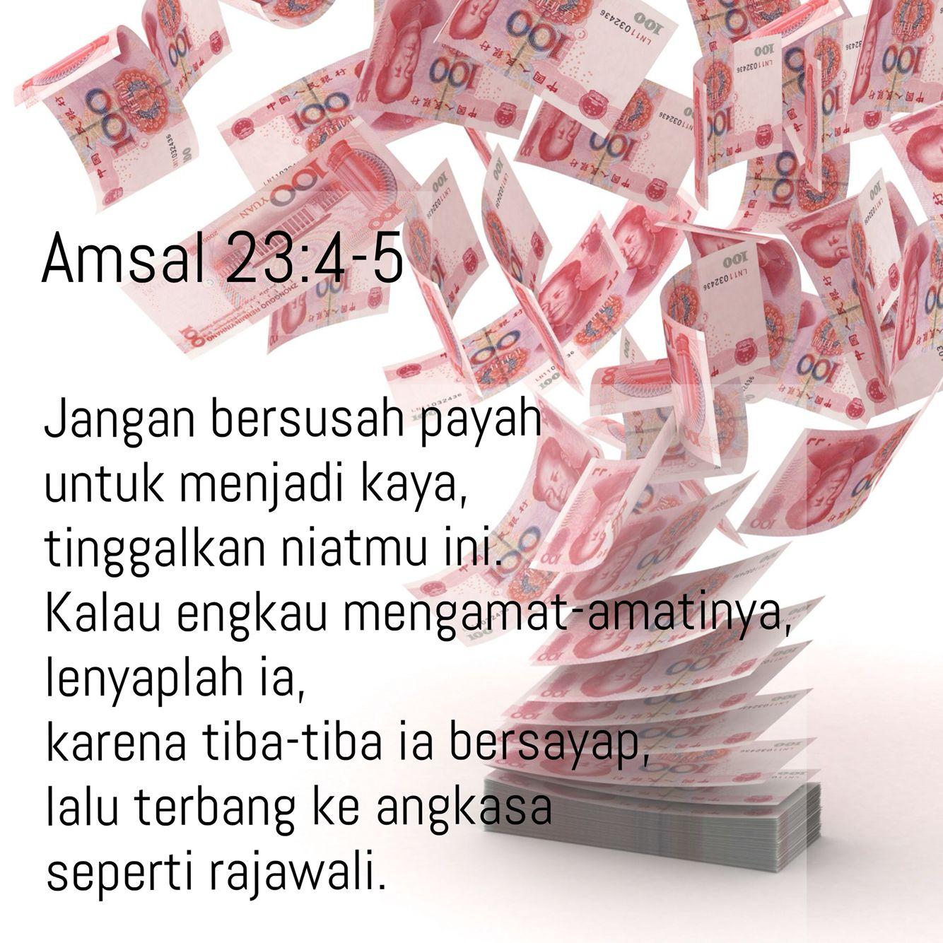 Amsal 23 4 5 Kutipan Alkitab Mazmur Kutipan Rohani