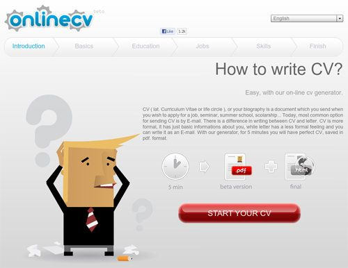 10 Online Tools To Create Impressive Resumes CV Pinterest - resume generator