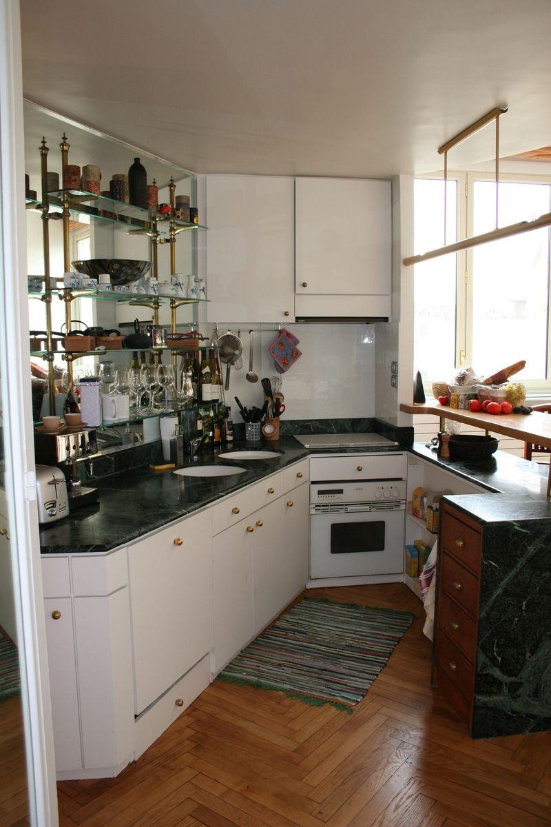 Cocina tradicional peque a blanca rincon cocinas - Cocinas tradicionales blancas ...