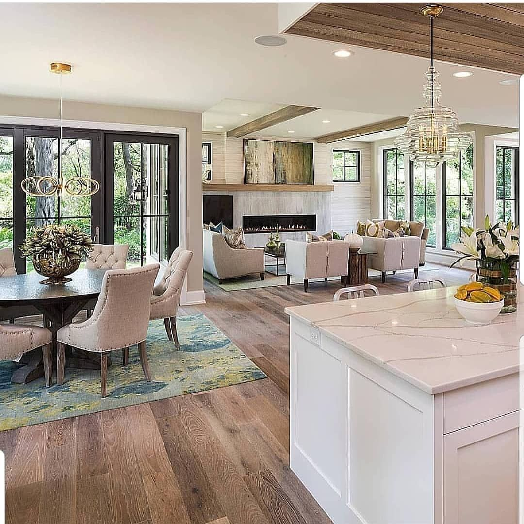 One of my favorite open concept homes. What is your ...