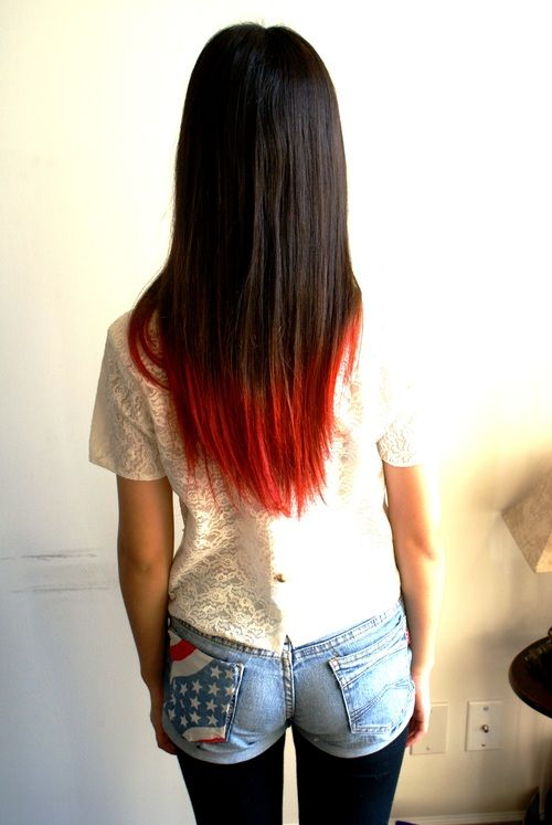 Kool Aid Dip Dye Kool Aid Hair Kool Aid Dip Dye Dyed Red Hair