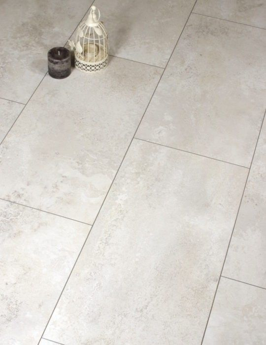 Cream Tile Effect Laminate Floor Bathroom Pinterest Ceramic