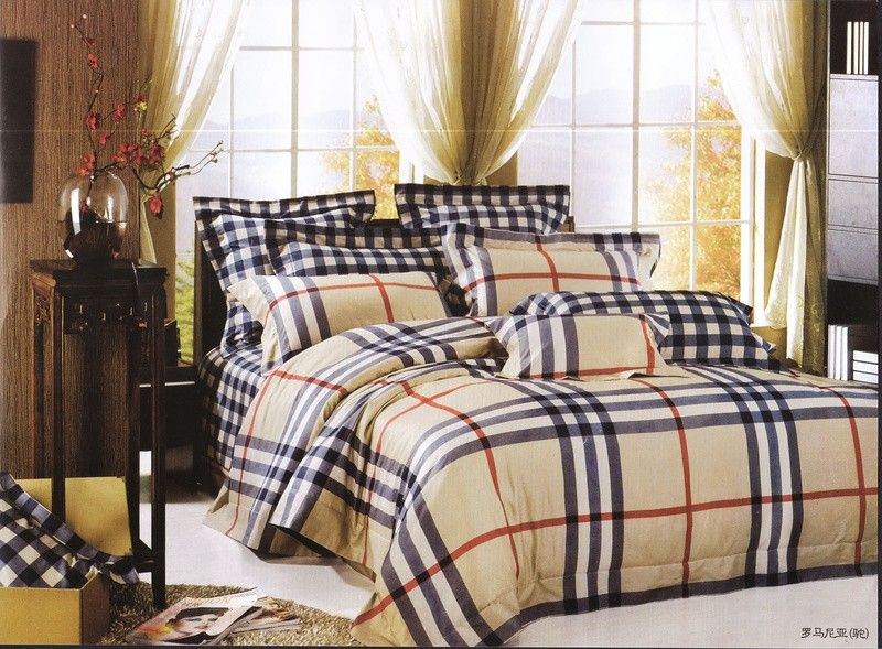 burberry bettw sche g nstig billig gut preiswert king size. Black Bedroom Furniture Sets. Home Design Ideas