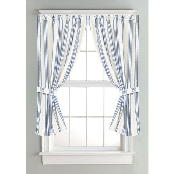 Hiend Accents Multi Striped Curtain ($77) ❤ liked on Polyvore ...