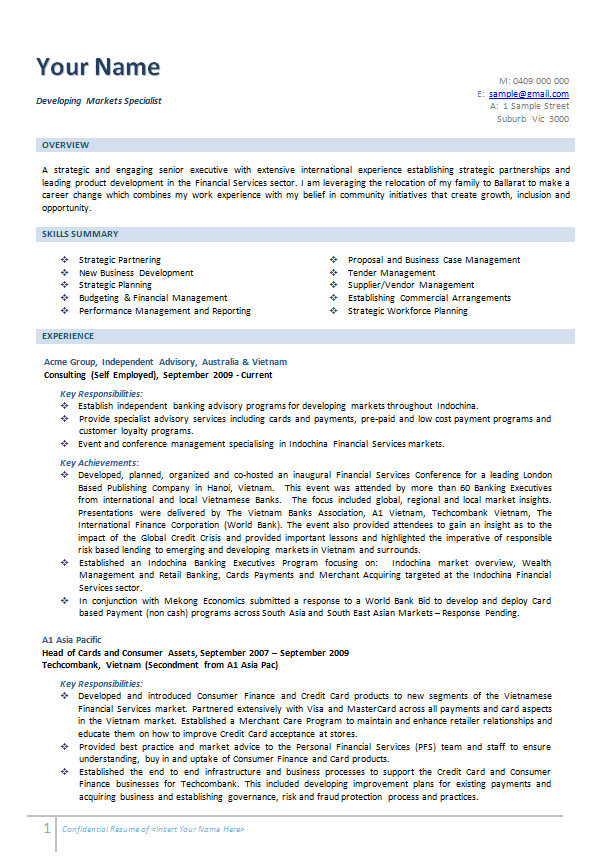 Free Resume Samples Australia Examples Template Cover Letter - Sample cover letters australia