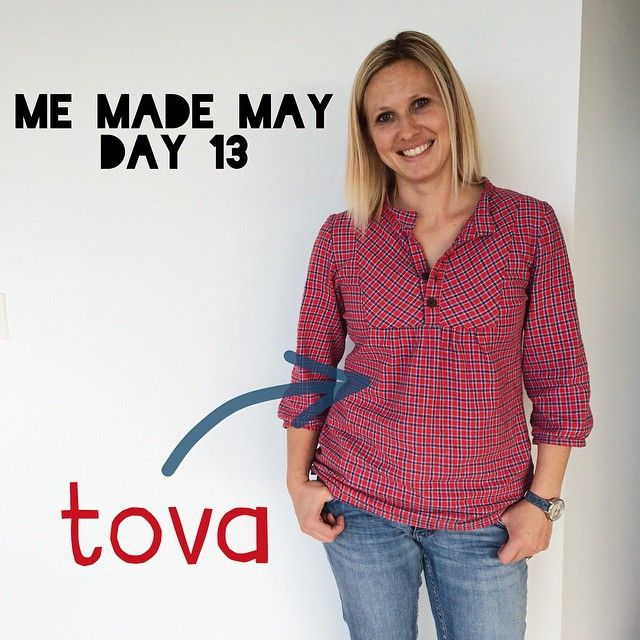 Me Made May: Day 13 in a @wikstenmade #tova top made in brushed cotton. #mmmay15