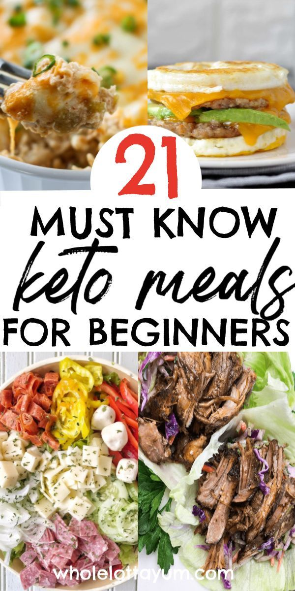 21 Easy Keto Meals for Beginners