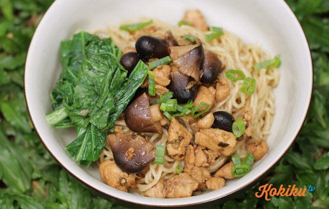 Resep Mie Ayam Jamur Kokiku Tv Resep Makanan Masakan Memasak