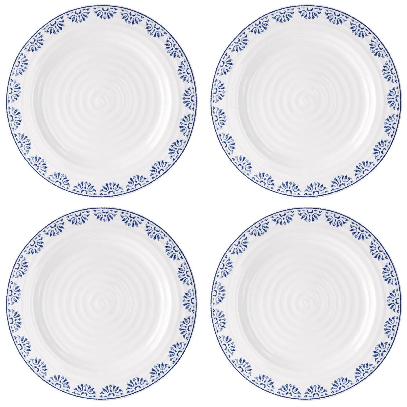 Sophie Conran for Portmeirion Betty Dinner Plate Set of 4