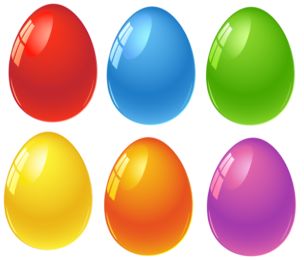 Colored Easter Eggs Png Clipart Easter Egg Pictures Easter Eggs Coloring Easter Eggs