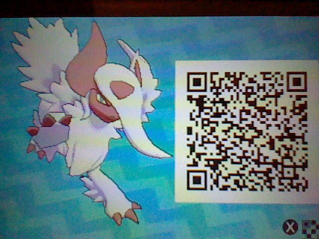 Rayquaza Special Qr Codes For Pokemon Ultra Sun Lady My Favorite Lv 100 Shiny Mega Absol Pokemon Sun Moon Qr