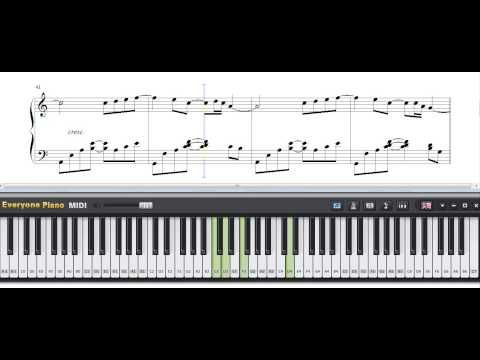 Free Right Here Waiting Richard Marx Piano Sheet Music Tutorial