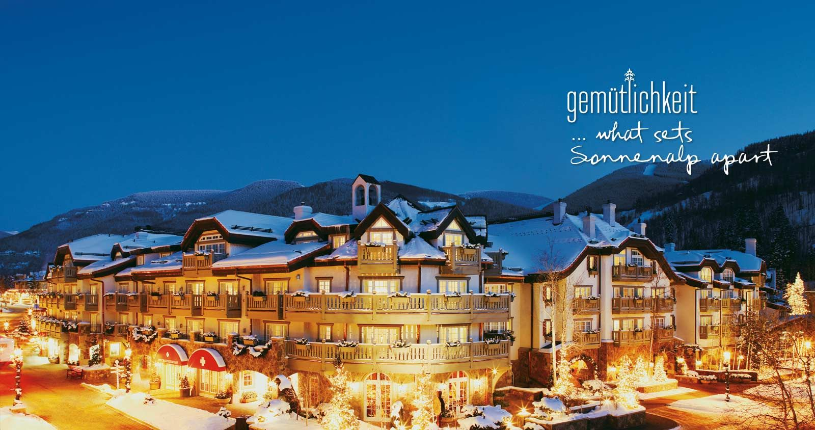 The Sonnenalp Offers A Boutique Lodging Experience For Guests Seeking Best Vail Hotels In Village