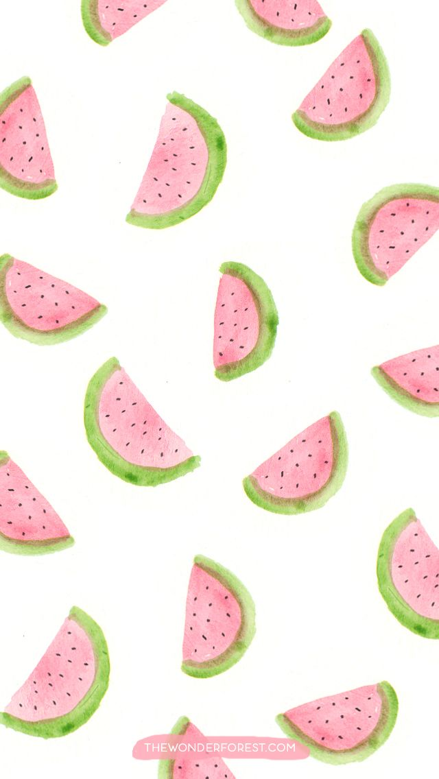 Pin By Nicki Vuong On Iphone6 Wallpaper Watermelon Wallpaper