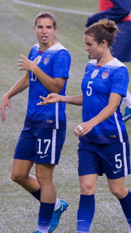 Tobin Heath Kelley O Hara Usa Soccer Women Uswnt Soccer Women S Soccer Team