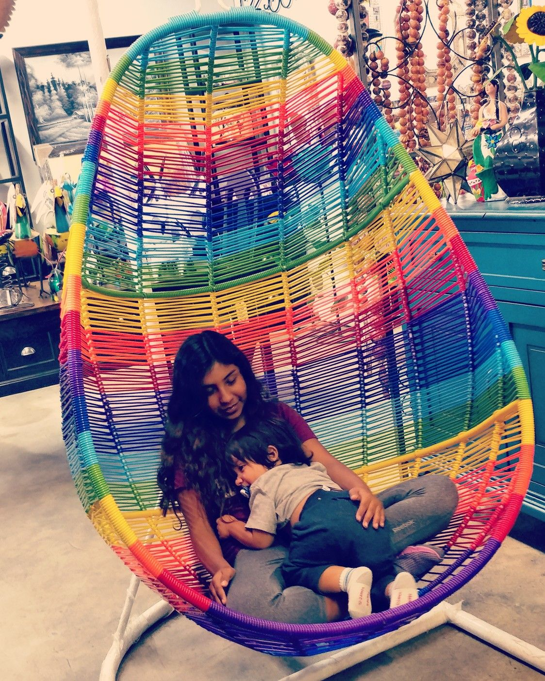 Swing Chair Home Town Foldable Bowl Acapulco Available At Barrio Antiguo 725 Yale St Houston Texas 77007 713 8802105