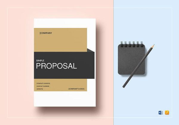 easy-to-edit-proposal-template-in-ipages Quotation Pinterest