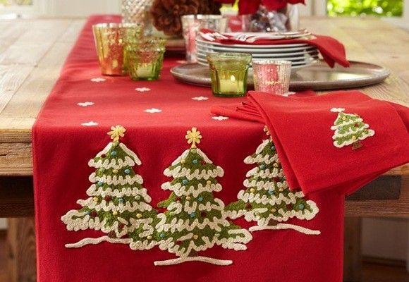 Decorar la mesa de navidad con poco presupuesto - Decorar la mesa en navidad ...