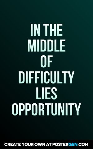 difficulty print inspirational quotes pinterest poster maker