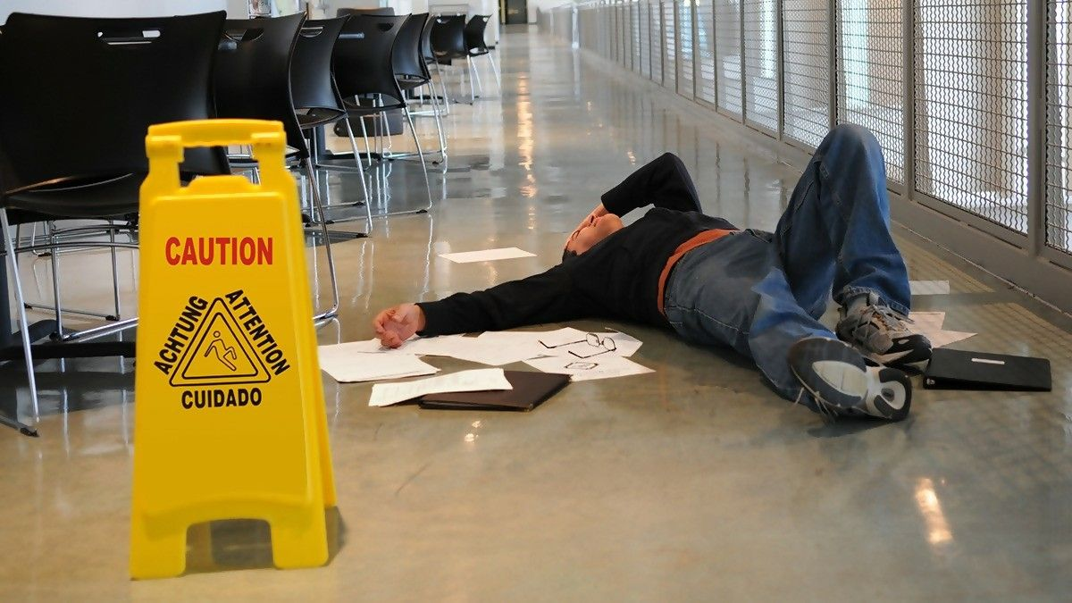 Were you a victim of slip and fall accident? Don't panic