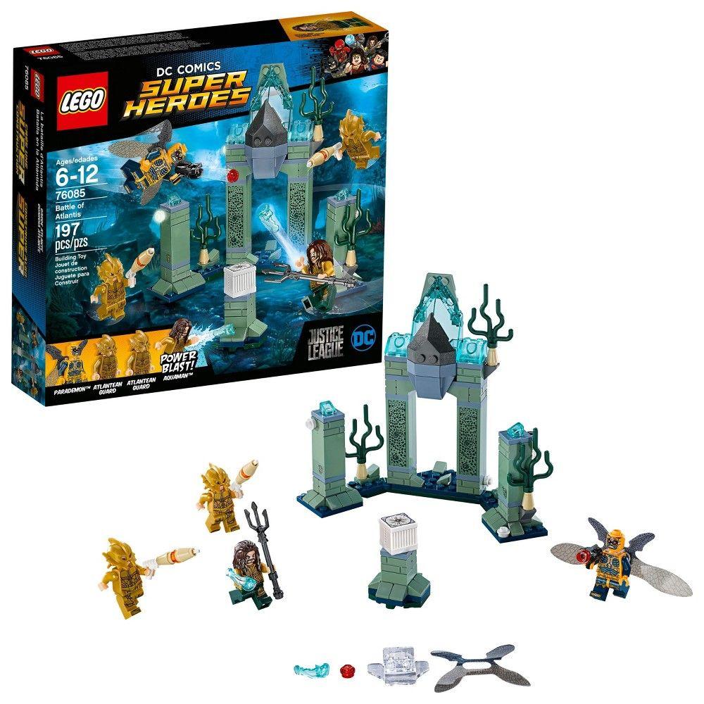 Battle Of Lego Super 76085 Comics Atlantis Justice Dc League Heroes A4RjL3qc5