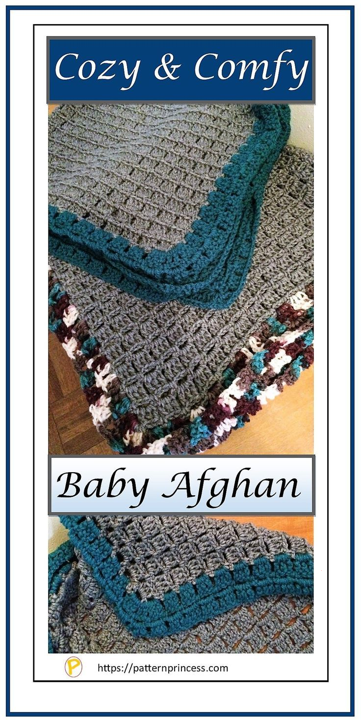 Photo of Cozy & Comfy Baby Afghan Pattern – Pattern Princess