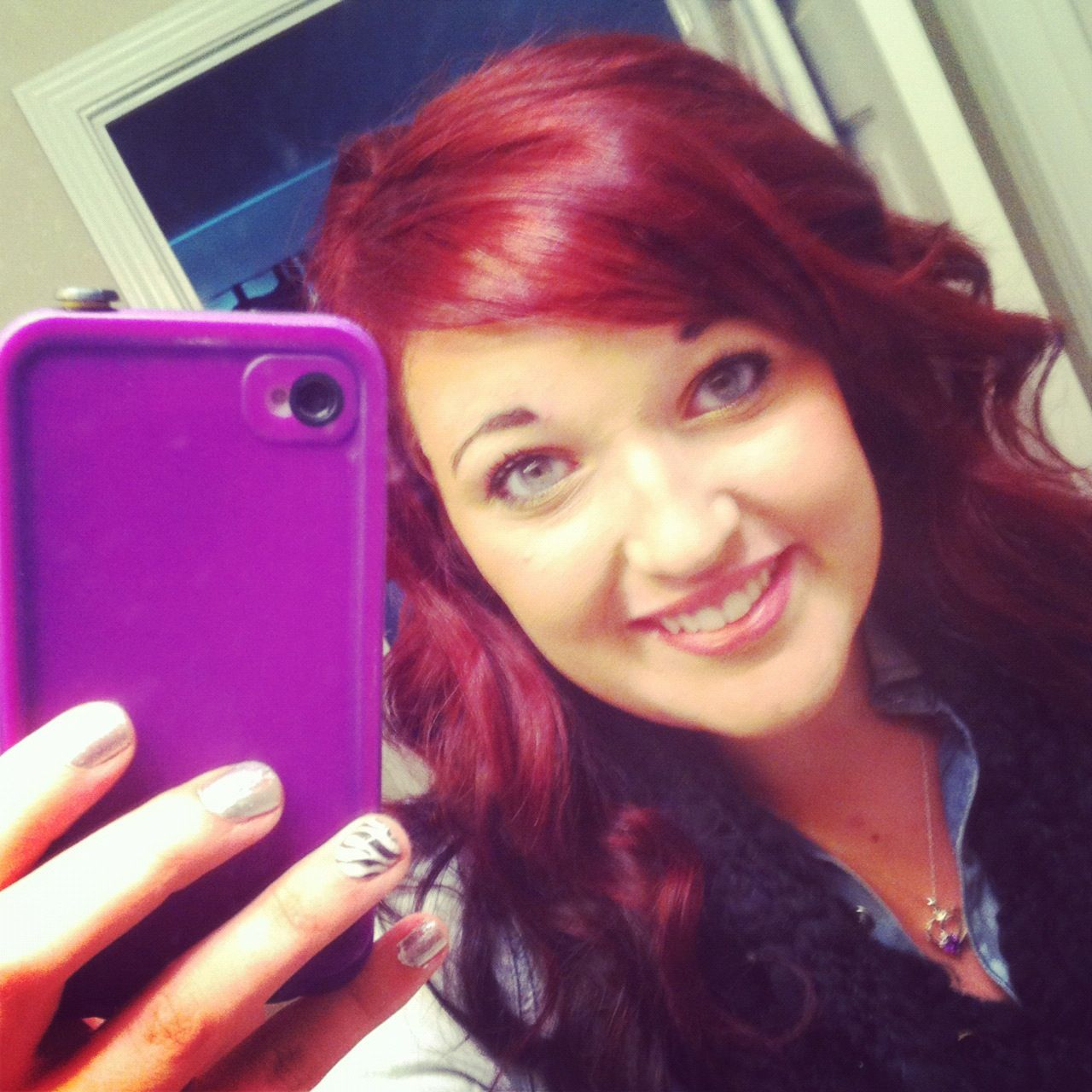 Medium Intense Red Ion Color Purple Ion Color This 3 Hair