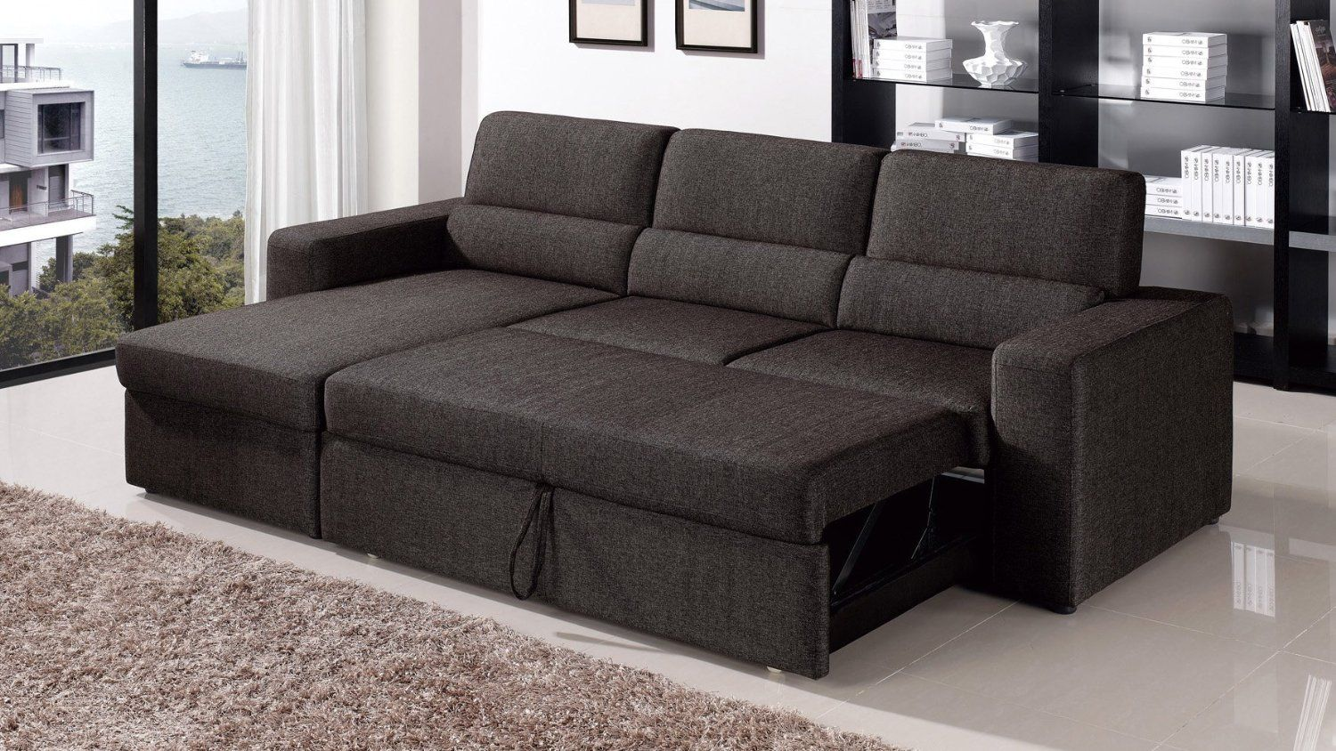 Flexsteel Sofa Best Sectional Sleeper Sofas With Storage