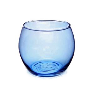 Blue Glass Bowl Tealight Holder x 6. Only £1.49 each!