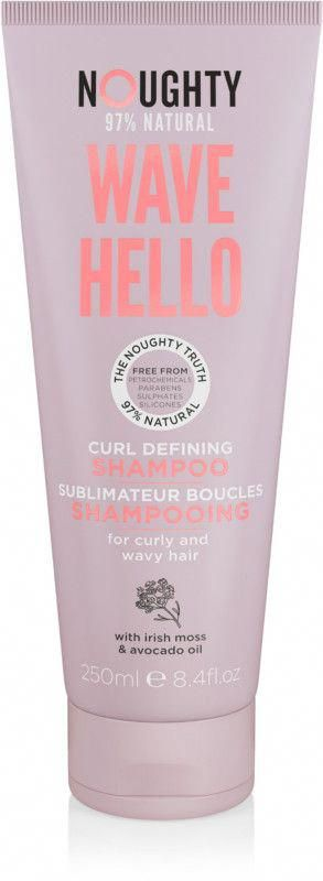 noughty's wave hello curl defining shampoo with vitamin