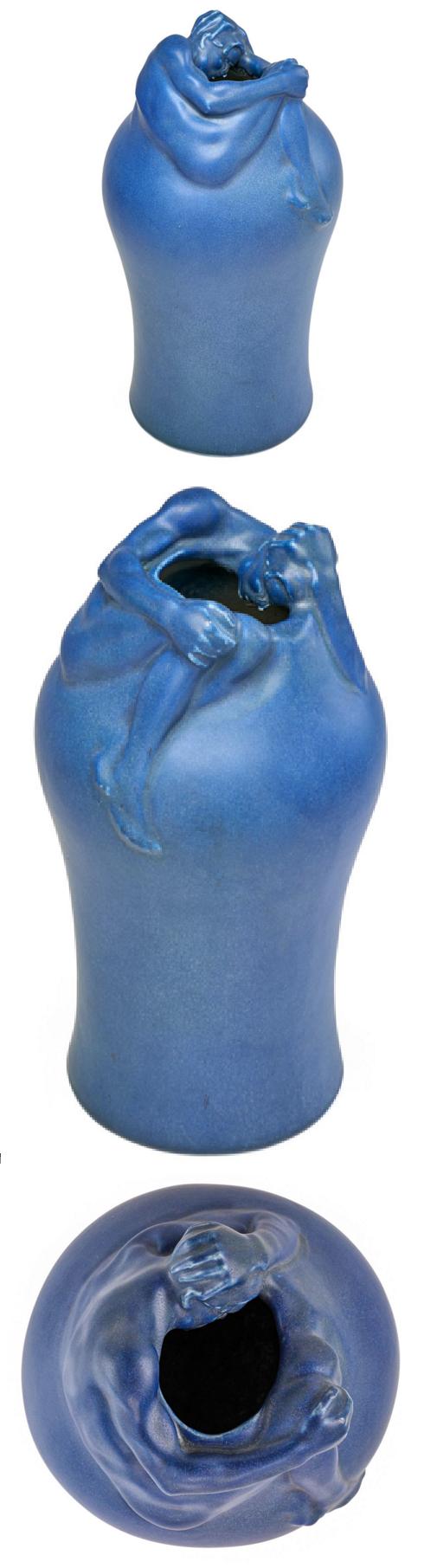 Van briggle important early and large despondency vase art art van briggle reviewsmspy