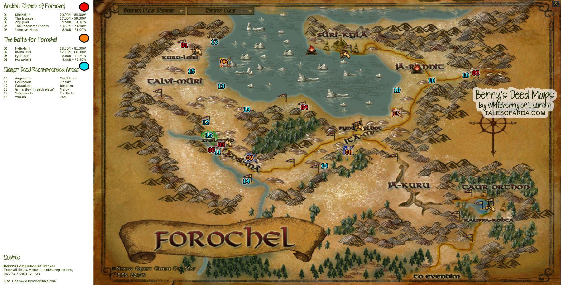 forochel Deed Maps Eriador Pinterest