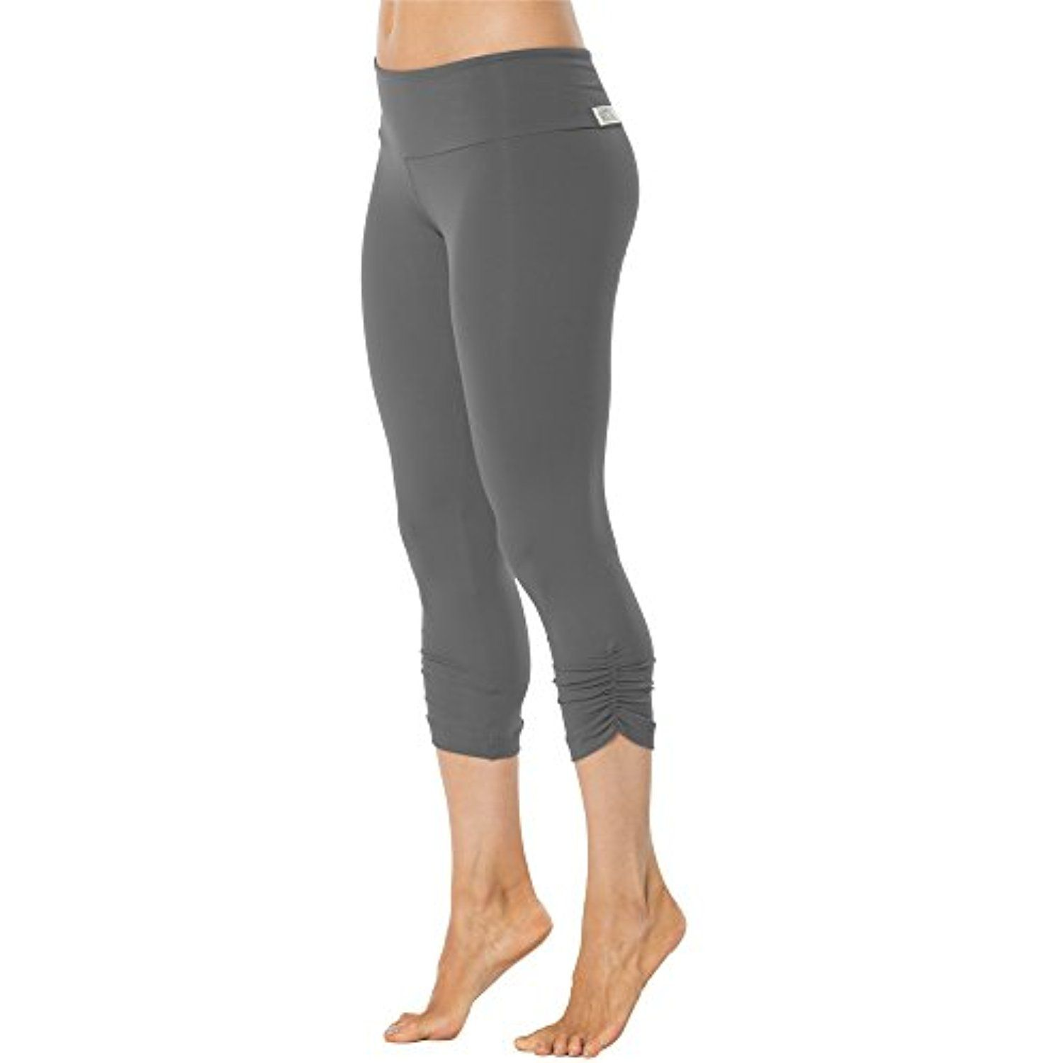 Yoga Women's Elisabetta Gather Band Leggings Sport Side 34 Rogiani trxQdCsh