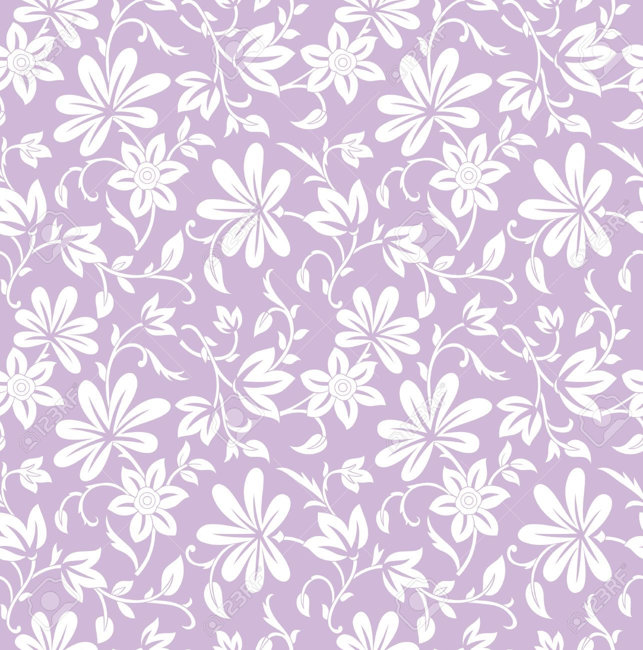 Pastel Purple Floral Background Google Search Seni Desain