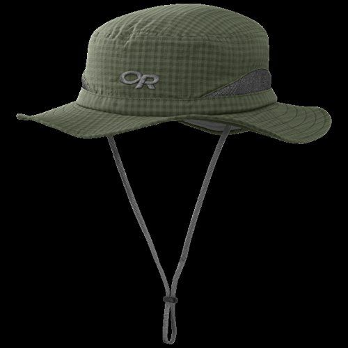 FEATURES of the Outdoor Research Men s Sol Sun Hat Breathable Lightweight  Wicking Protective SolarShield Construction UPF 30 Foam-Stiffened Brim  Floats ... 162a8cc2e17