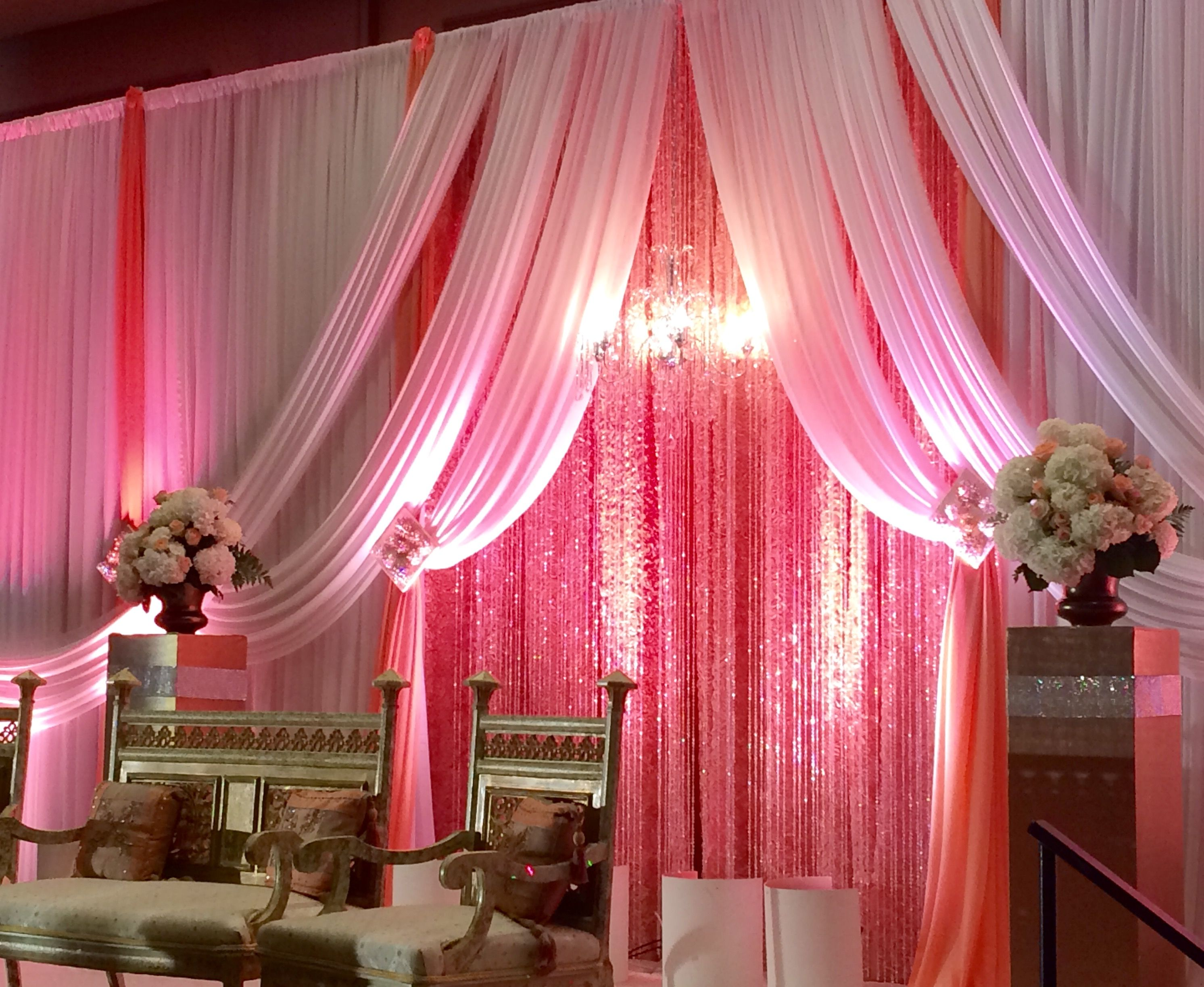 wedding receptions sacramento ca%0A Pretty in Pink at an Indian Wedding at Hyatt Regency Sacramento