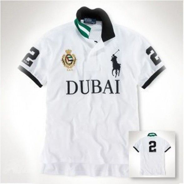 Ralph Lauren Short Sleeved Polo Men Dubai White