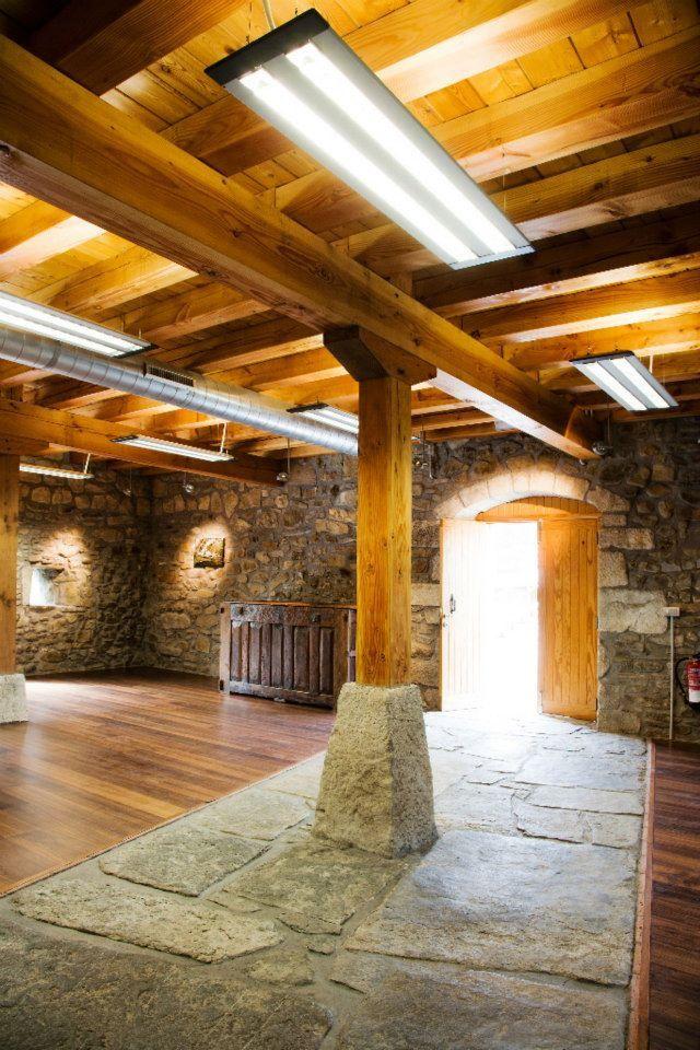 Depuradora municipal Elgoibar_Detalle techos madera