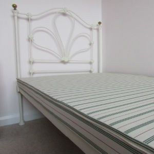 Odd size bed base for single antique Victorian Iron bedstead.