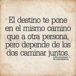 Frases De Amor Y Destino Frases Love Words Y Quotes